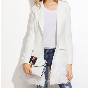 Jackets & Blazers - Feather Long Blazer