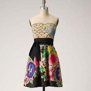 Moulinette Soeurs painted lotus dress