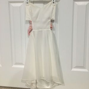 Open back princess dress
