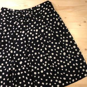 Alex Marie | A-Line Polka Dot Skirt