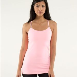 Lululemon Pink power y tank - older style