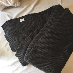 Threshold Knitted Throw