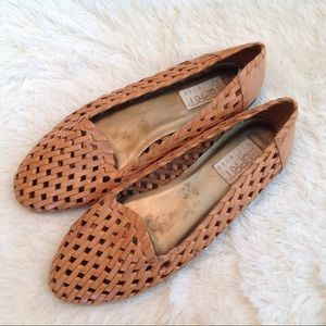 Esprit Footwear Leather Woven Sandals SLip Ons