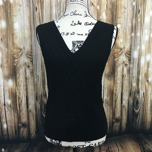 Cable & Gauge sleeveless v-neck top