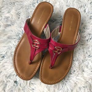 Tommy Hilfiger Magenta Chunky Sandals