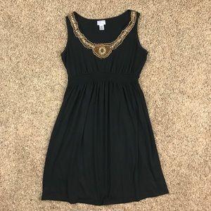 Motherhood Maternity Black Sleeveless Dress