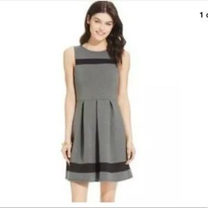 Speechless Gray Black Accent Pleated Dress Sz XL