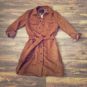 Suede Jacket Maple Color