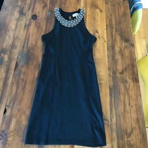 Zara Dress with Beaded Neckline