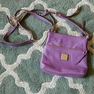 DOONEY & BOURKE purple Leather Crossbody Bag