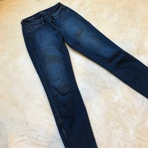 Loft Skinny Ankle Jeans