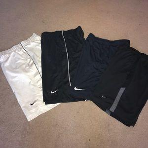 Bundle/individual Medium Nike Basketball shorts