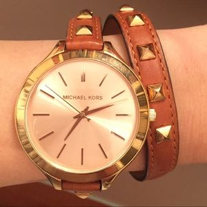 Michael Kors Wrap Bracelet Watch