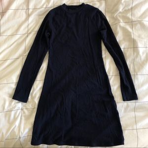 Reformation Zola dress in navy XS