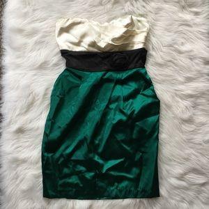 NWT Speechless Formal Silk Strapless Tube Dress 9