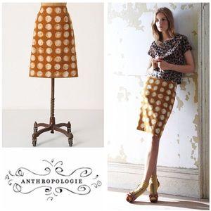 ANTHROPOLOGIE Maeve Corduroy Skirt