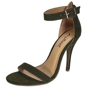 ANNE MICHELLE ankle strap heel