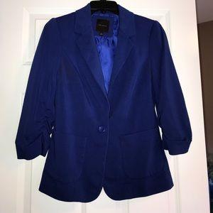 The limited boyfriend jacket! Royal blue! Small!