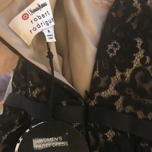 Black lace dress size 6