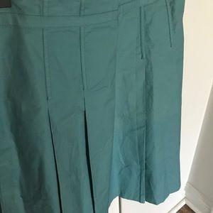 GAP A-line Pleated Skirt