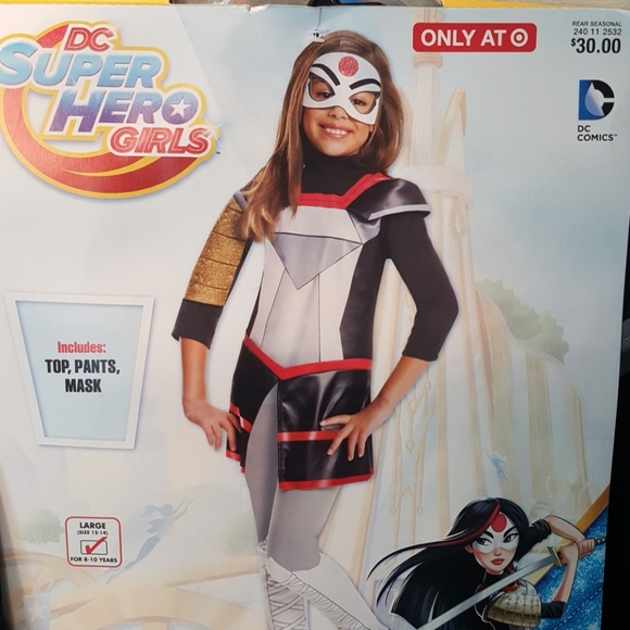 Target Costumes Cco New Dc Superhero Girls Katana Poshmark