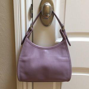 Coach Lavender Leather Bag