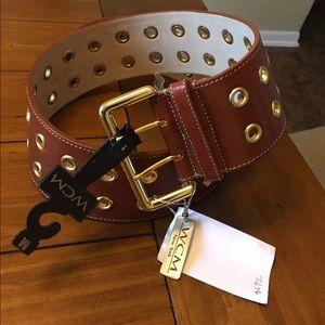 Accessories - New WCM belt