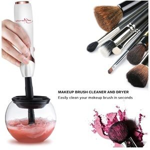 MAKE UP BRUSH CLEANER AND DRYER!!