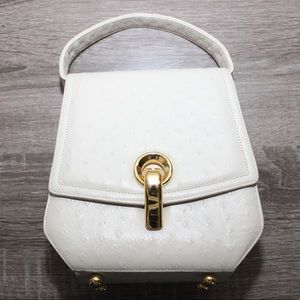 Handbags - Fancy Vintage Faux Ostrich Handbag