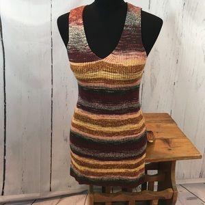 Ann Taylor LOFT Sleeveless Tunic Sweater