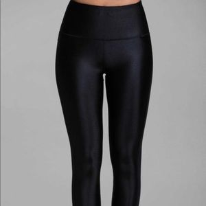 H&M Shiny Opaque High Waist Leggings