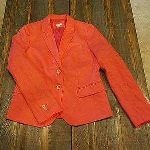 J. Crew linen blazer