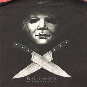 Halloween Resurrection movie T-shirt