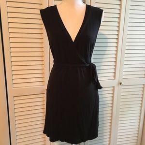 Merona little black wrap dress