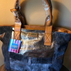 Nikky denim large Tote by NLee