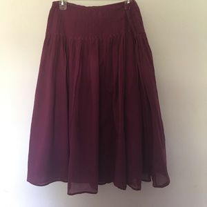 Ralph Lauren mid calf skirt