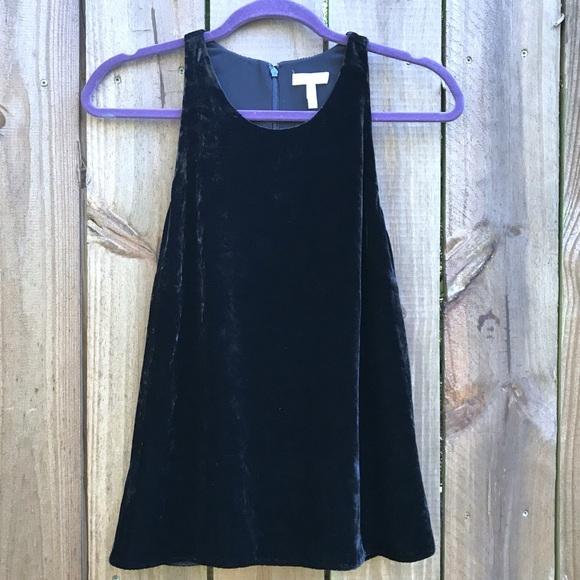 546c6352cdef Joie Tops | Brighton Velvet Silk Racerback Top Black | Poshmark
