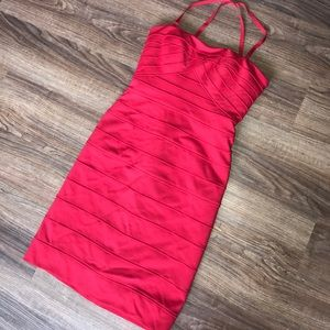 Red BCBGMaxzaria Cocktail dress