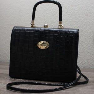 Handbags - Vintage Faux G.Versace Croc Handbag