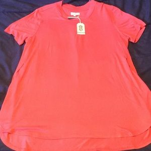 Tops - Mudpie coral tunic