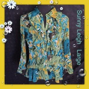 Sunny Leigh / Large / Multi Color Floral Print