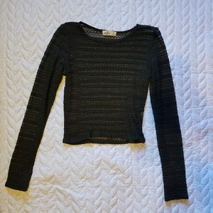 ☆2 for $12☆ Hollister Knit Crop Top