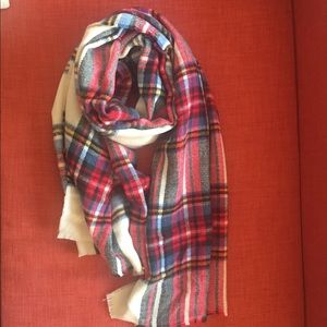 Plaid oversized scarf ~ Great to keep you warm! ~