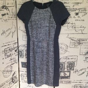 J. Crew Gray Tweed Dress Size 4