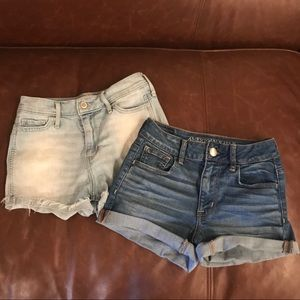 2 FOR $20 Hollister & American Eagle shorts