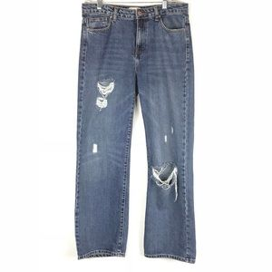 Forever 21 high rise boy friend jeans