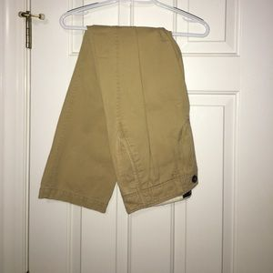 Men's American Eagle Relaxed Straight Khaki Pants