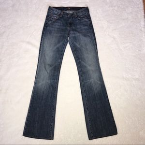 NWOT 7FAM 7 For All Mankind Long Legs Bootcut | 25