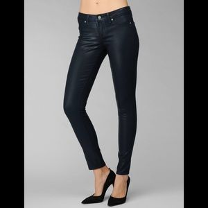 Paige Jeans | Waxed Dark Blue Wash, 28