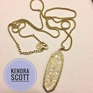 Kendra Scott Ivory/Gold Layden necklace